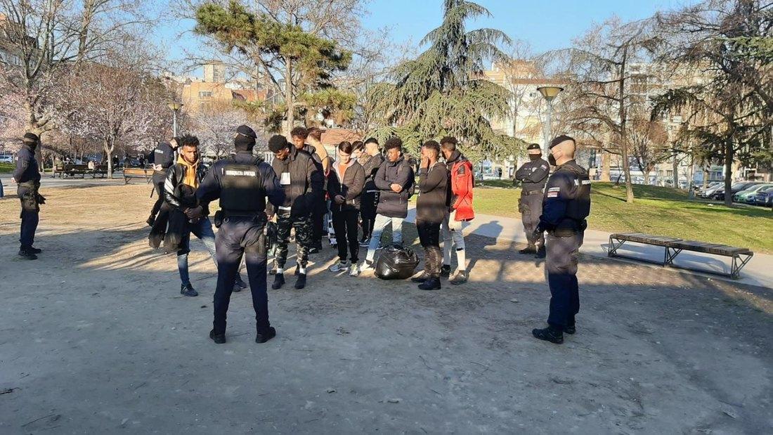 Beograd: Pronađena 24 iregularna migranta