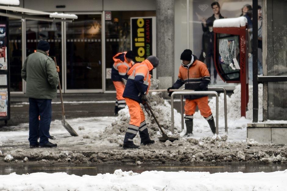 Beograd: Sve ulice prvog prioriteta su čiste