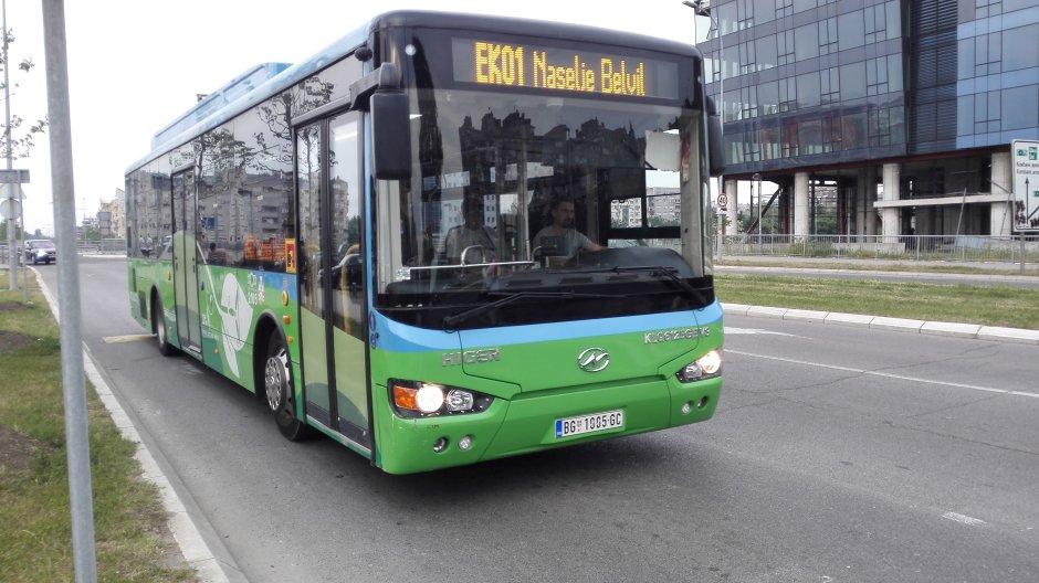 Beograd dobija 220 novih autobusa