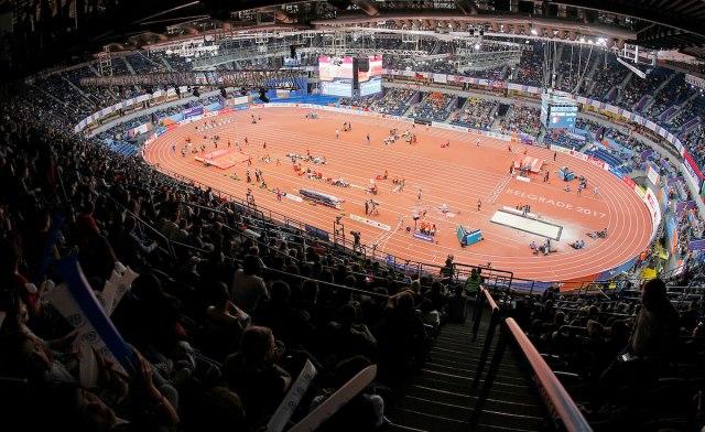 Beograd domaćin dvoranskog prvenstva sveta 2022. u atletici