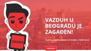 Beograd treća prestonica na svetu po aerozagađenju, još gore u Čačku i Kosjeriću