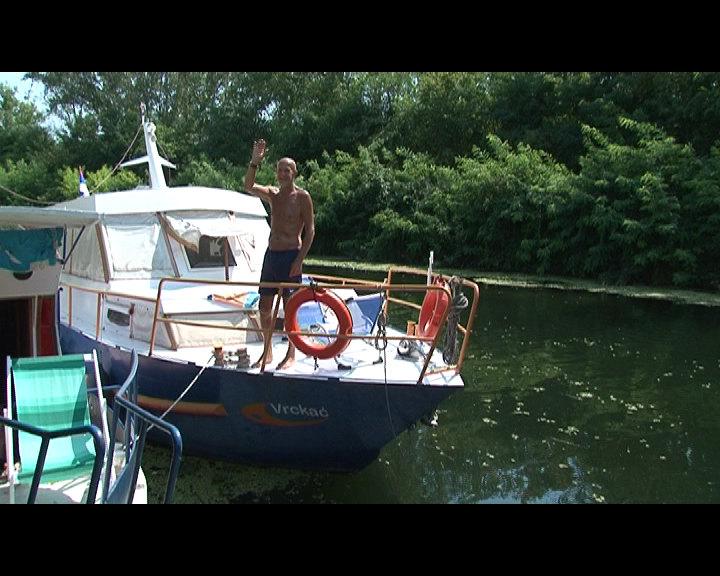Beograđanin već 15 godina leto provodi na  Velikom bačkom kanalu
