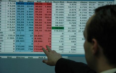 Beogradska berza: Zaustavljen pa indeksa, trgovanje oskudno