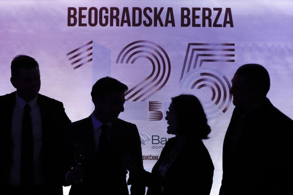 Beogradska berza obeležila 125 godina postojanja