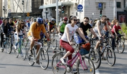 Beogradska biciklistička Kritična masa proslavlja danas 10. rodjendan