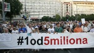 """Beogradski protest """"1 od 5 miliona"""" u subotu biće posvećen problemima u obrazovanju"""