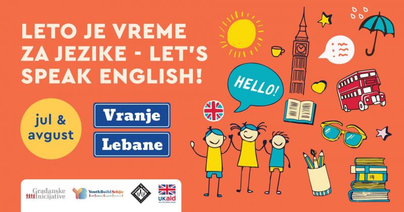 BesplatnI časovi engleskog za mlade u Vranju