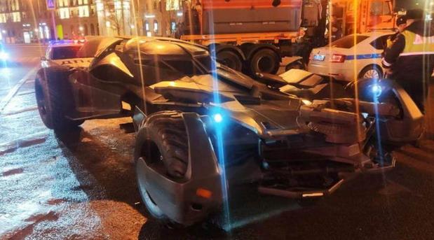 Betmobil zaplenjen u Moskvi jer ne ispunjava bezbednosne propise
