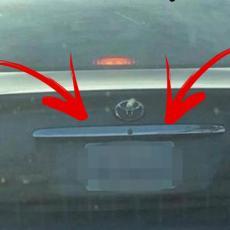 Bezobrazno ga isekao TOJOTOM, a tek kad je video TABLICE: Šok! Pa ovaj auto vozi... Uf! (FOTO)