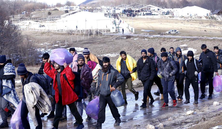 BiH: Uhapšeno 17 migranata, svi će biti proterani
