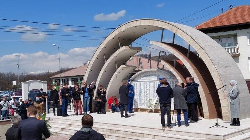 BiH: Obilježene godišnjice zločina u Ahmićima i Trusini