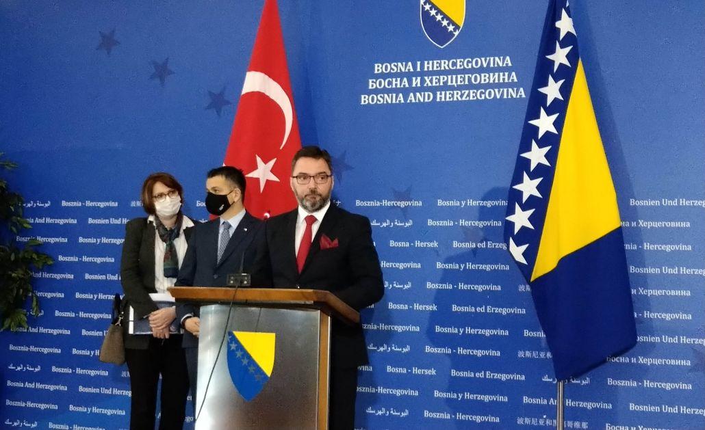 BiH i Turska 16. marta potpisuju sporazum o slobodnoj trgovini