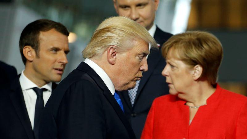 Bijela kuća: Tramp sa Merkel i Macronom na marginama samita