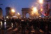 Bilans protesta u Parizu: 115 uhapšenih, sedmoro povređeno