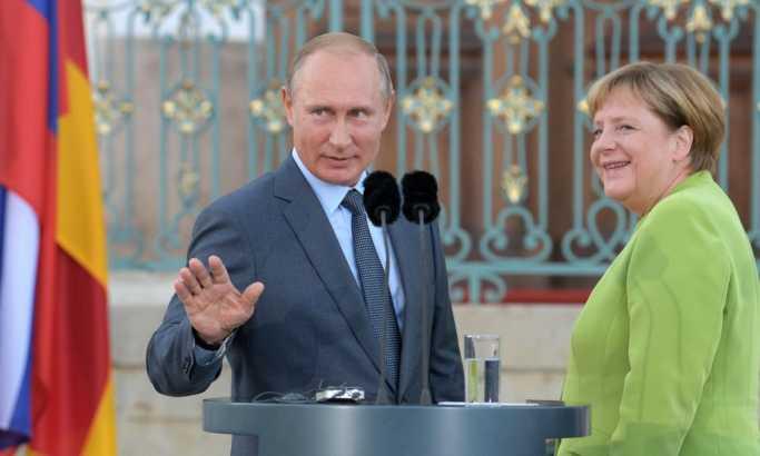 Bild: Kod kuće požar, a Merkelova zastupa antiruske stavove