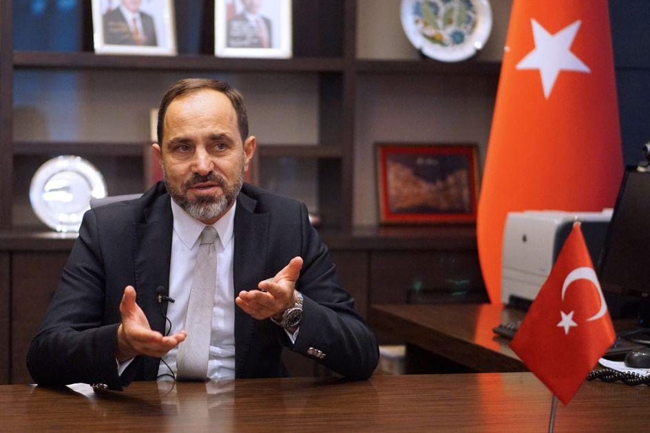 Bilgič: Odnosi Turske i Srbije na najvišem nivou