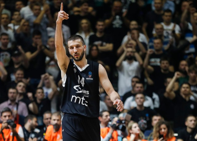 Birčević napustio Partizan: Zauvek crno-beli