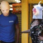 Bizarne maske na glavama: Pevač i pevačica se ovako krili od paparaca
