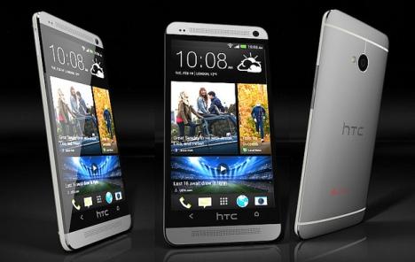 Blagi mjesečni rast prihoda HTC-a
