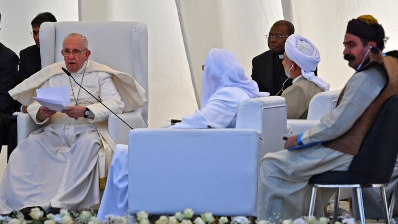 Blinken: SAD veruju  da će papina poseta Iraku doprineti toleranciji