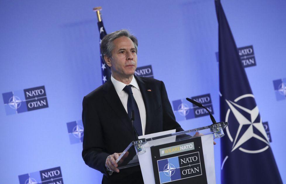 Blinken putuje u Brisel na konsultacije s NATO partnerima