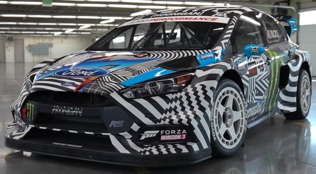 Blockov Ford Focus RS RX prodat za 200.000 dolara