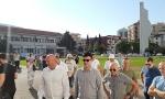 Blokada se nastavlja: Policijski kordon ispred Opštne Budva, građani deseti dan sprečeni da uđu