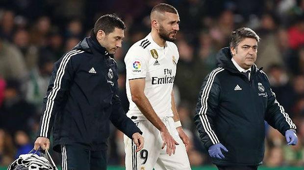 Bolnica u Madridu, Realu se povredio i Benzema