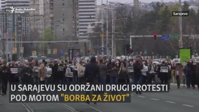 Borba za život: Novi protesti u Sarajevu zbog nenabavke vakcina