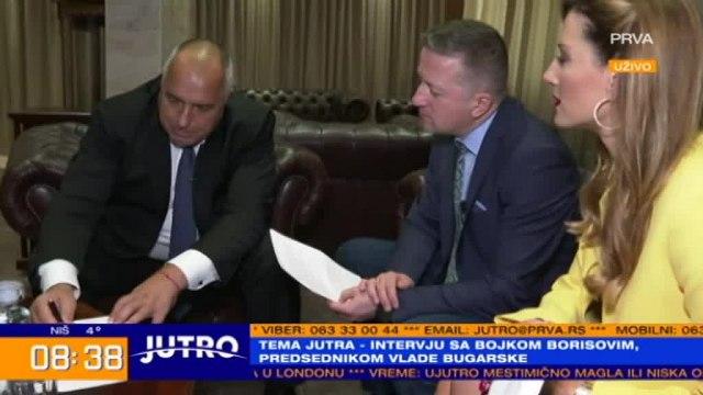 Borisov: Gas iz Bugarske u Srbiju do maja 2020. godine VIDEO