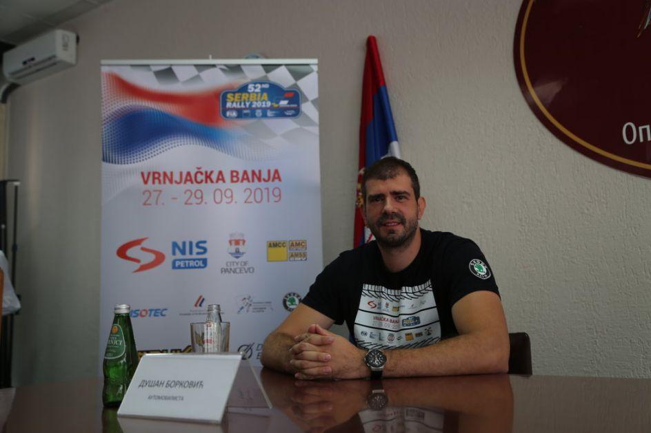 Borković posle 10 godina vozi trku pred domaćom publikom