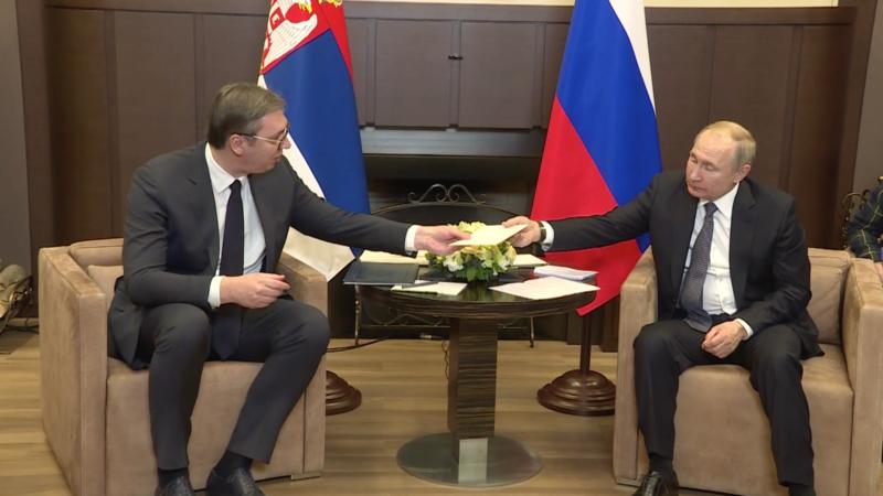 Boško Jakšić: Vučić se plaši Putina