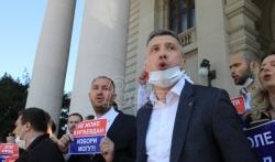 Obradović: Dveri bojkotuju izbore, ne prekidam štrajk gladju dok vlast i opozicija ne počnu ...