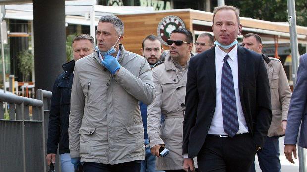 Boško Obradović na saslušanju u Tužilaštvu