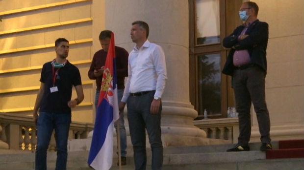 Boško Obradović nastavlja štrajk glađu