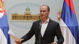 Božović (DS): Dveri se nepoštovanjem ljudskih prava deklarišu kao antievropska desnica