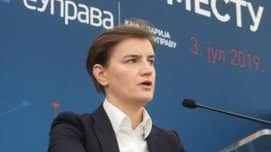 Brnabić: GMO se bespotrebno politizuje, važno je da Srbija bude članica STO