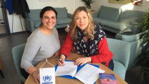 Branka Katić podržava rad UNHCR na pomoći izbeglicama u Srbiji