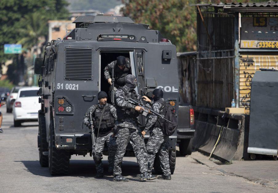 Brazil: U pucnjavi ubijeno 25 ljudi, među njima i policajac