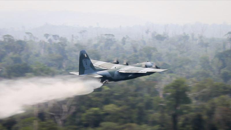 Brazilska vojska započela raspoređivaje kako bi gasila požare u Amazoniji