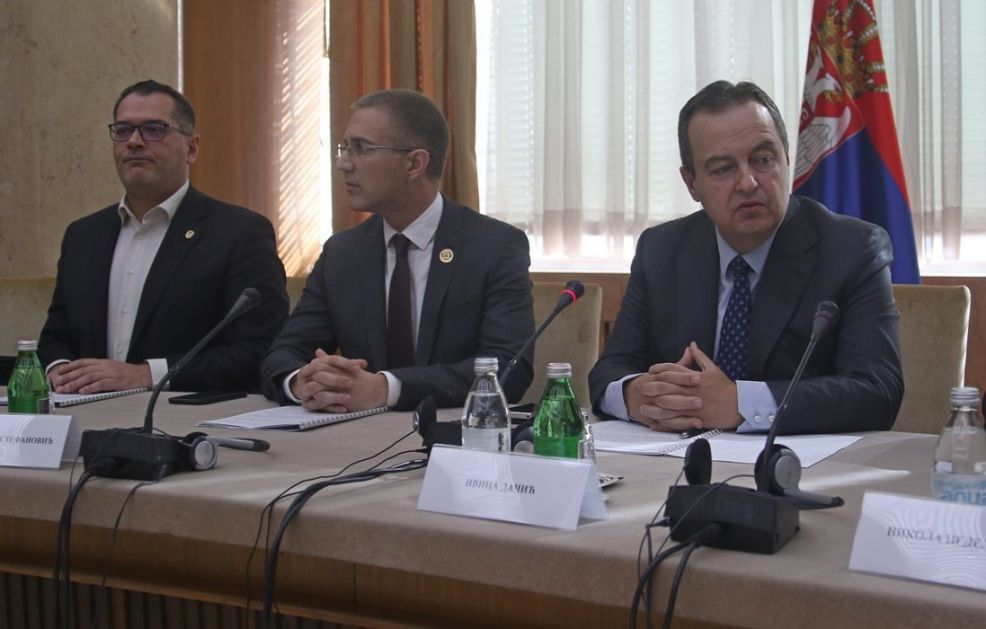 Brifing za ambasadore povodom zahteva tzv. Kosova za prijem u Interpol