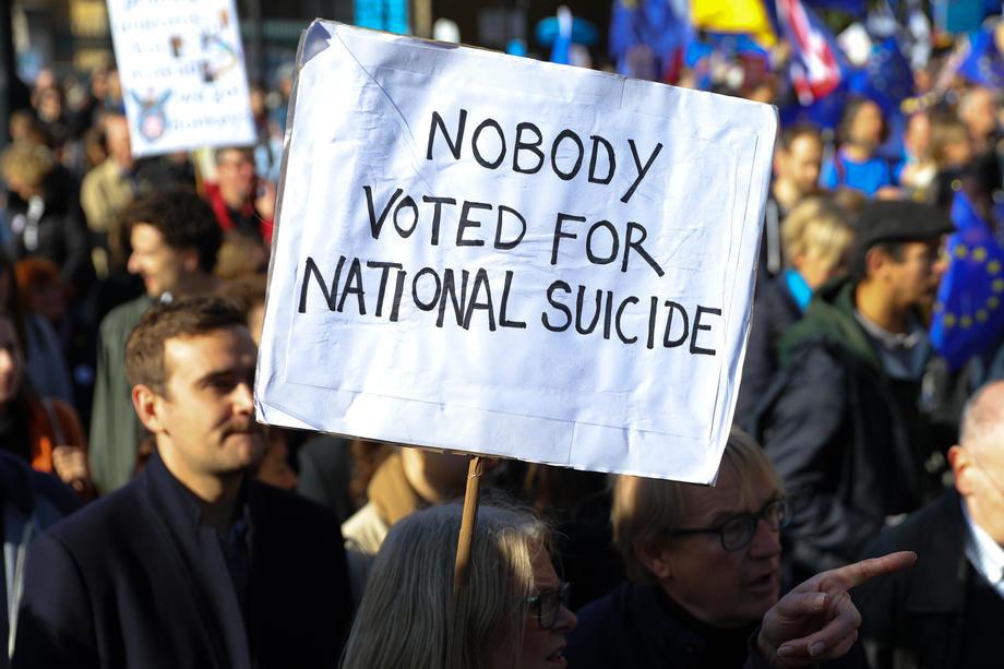 Britanija napušta EU prema dogovoru Džonsona