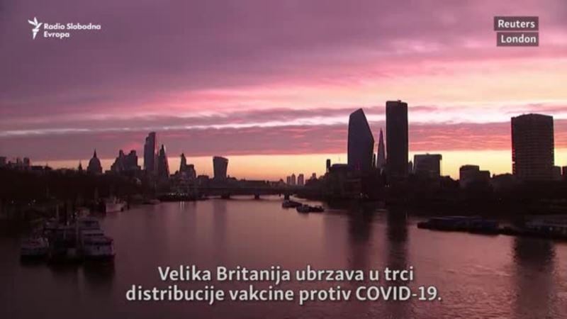 Britanija planira upotrebu Pfizer vakcine za nekoliko dana