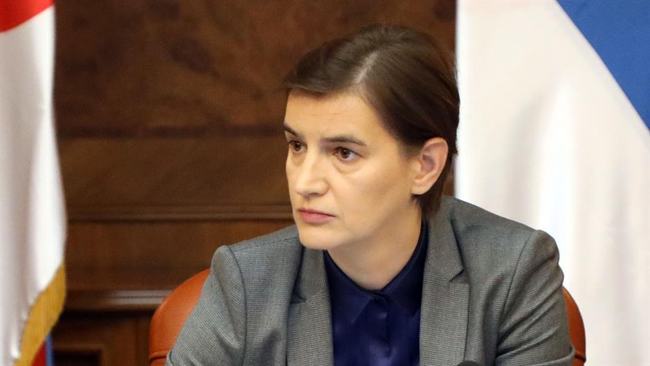 Brnabić: EU da pritisne Prištinu zbog Briselskog sporazuma