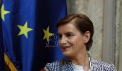 Brnabić: EU treba da pritisne Prištinu da primeni Briselski sporazum
