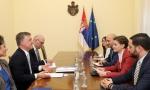 Brnabić: Jačanje saradnje sa misijom Saveta Evrope u Beogradu