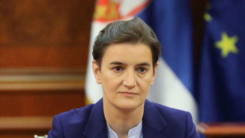 Brnabić: Jasna poruka Podgorice da su građani Srbije nepoželjni u Crnoj Gori