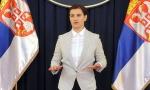 Brnabić: Nasilnog prevrata i anarhije u Srbiji neće biti