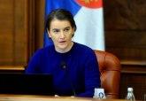 Brnabićeva: O rekonstrukciji ću razgovarati i sa Vučićem