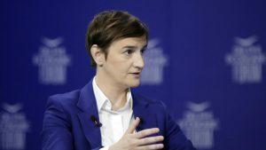"""Brnabić: Očekujem """"bolji izveštaj"""" evropskih institucija o napretku Srbije"""
